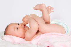 Playful child Stock Photos