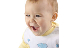 Playful child, excited Royalty Free Stock Photo