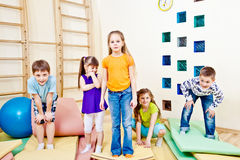 Playful children Stock Image