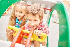 Playful children Royalty Free Stock Photography