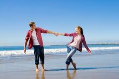 Playful couple Stock Photos
