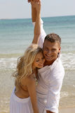 Playful couple Royalty Free Stock Images