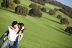 Playful couple Royalty Free Stock Photos