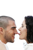 Playful Couple Royalty Free Stock Photography