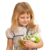 Playful easter Stock Photography