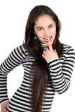 Playful girl Royalty Free Stock Photos