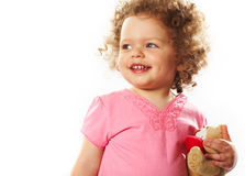 Playful girl Royalty Free Stock Images