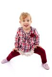 Playful girl Royalty Free Stock Photo
