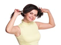 Playful girl Stock Image