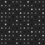 Playful grayscale pixel seamless pattern. Seamless repeatable background good for masculine printed objects and fashion items stock illustration