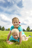 Playful Happy Kids Stock Photo