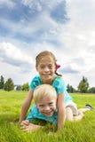 Playful Happy Kids Stock Photo