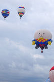 Playful Humpty Dumpty Hot Air Balloon Royalty Free Stock Photos