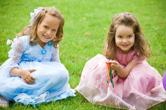 Playful kids Royalty Free Stock Photography