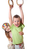 Playful kids Stock Image
