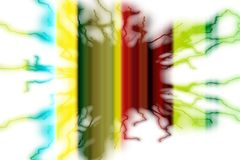 Yellow red green lightning background, sparkling abstract background Royalty Free Stock Images
