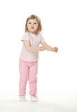 Playful little baby girl Royalty Free Stock Photo