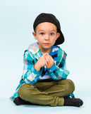 Playful little boy Stock Photos