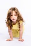 Playful little girl Stock Image