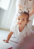 Playful little kid Royalty Free Stock Image