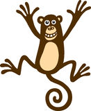 Playful Monkey Royalty Free Stock Photo