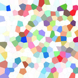 Playful mosaic abstract background Stock Photography