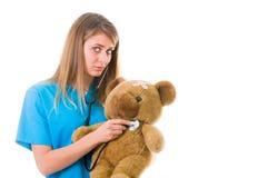 Playful pediatrics Stock Photos