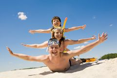 Playful people royalty free stock photography