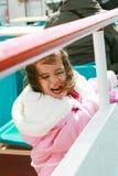 Playful pretty little girl Stock Image