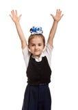 Playful schoolgirl portarit Royalty Free Stock Images