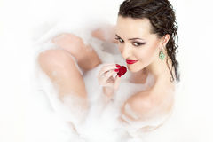 Playful sexy girl Royalty Free Stock Photo