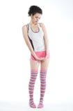 Playful teenage girl Stock Photography