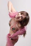 Playful Teenager In Bikini Stock Image