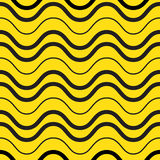 Playful waves seamless pattern Royalty Free Stock Images