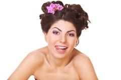Playful woman Royalty Free Stock Photos
