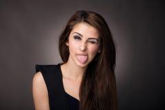 Playful woman Royalty Free Stock Image