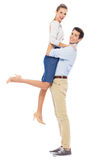 Playful young couple Royalty Free Stock Image