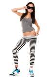 Playful young woman Stock Image