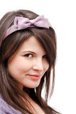 Playful young woman Royalty Free Stock Photography