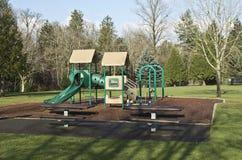 Playgorund σε ένα πάρκο. Στοκ φωτογραφία με δικαίωμα ελεύθερης χρήσης