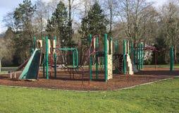 Playgorund σε ένα πάρκο. Στοκ Φωτογραφία