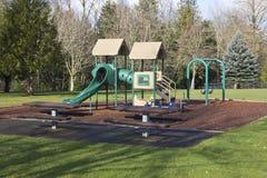 Playgorund σε ένα πάρκο. Στοκ εικόνες με δικαίωμα ελεύθερης χρήσης