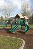 Playgorund σε ένα πάρκο. Στοκ Εικόνες