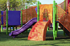 Playgound in park Royalty Free Stock Image