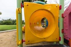 Playgroud στο πάρκο Στοκ Φωτογραφία