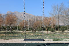 playground ταλάντευση Στοκ Εικόνες