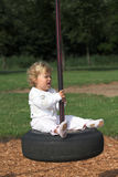 At the playground royalty free stock image