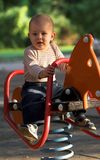 On the playground Royalty Free Stock Image
