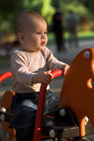 On the playground Stock Photo