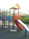 Playground. Slide in playground Royalty Free Stock Photography